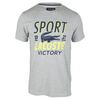 Men`s Short Sleeve Technical Croc Graphic Tennis Tee 0A6_SILVER_CHINE