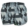 ADIDAS Women`s M10 Woven Graphic Short Gray and Clear Gray Print