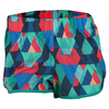 ADIDAS Women`s M10 Woven Graphic Short EQT Green and Shock Red Print