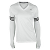 ADIDAS Women`s Response Long Sleeve Tee White