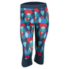 ADIDAS Women`s Techfit Boost Capri Multicolor Print