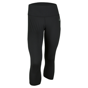adidas WOMENS PERF MID-RISE 3/4 TIGHT BLACK
