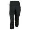 ADIDAS Women`s Performance Mid-Rise 3/4 Tight Black