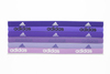 ADIDAS Fighter Tennis Hairband 6 Pack Power Purple and Night Flash