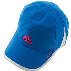 Women`s Adizero II Tennis Cap Shock Blue and White