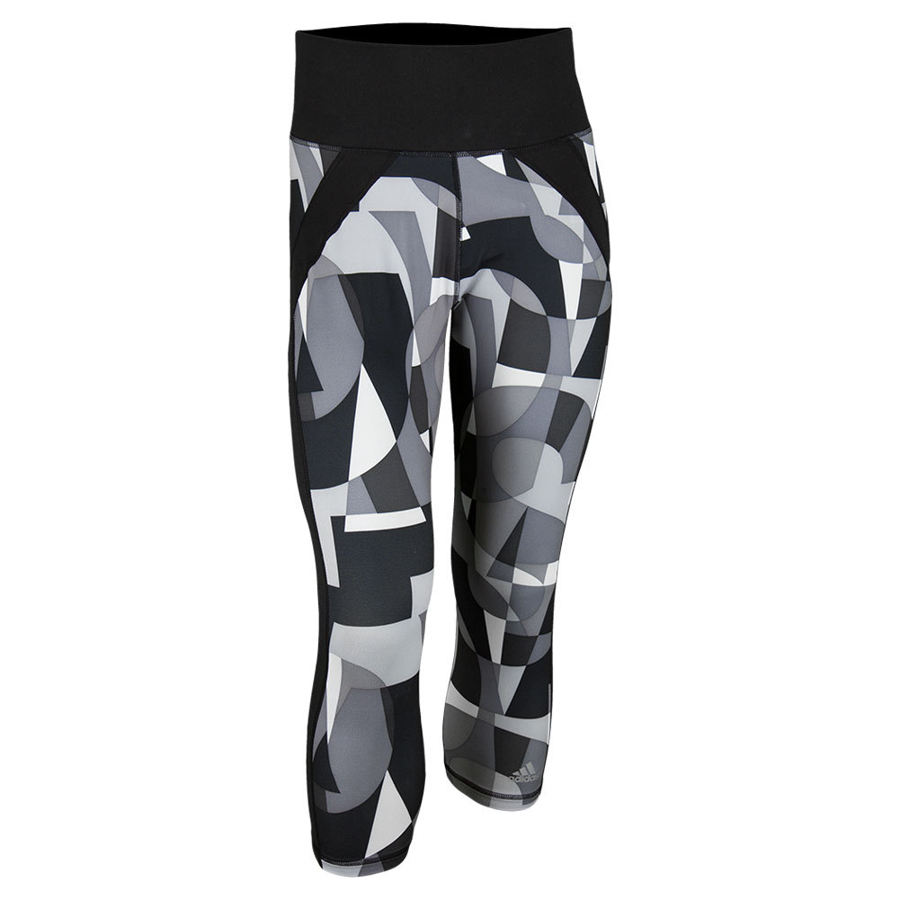 Women`s Printed Pant Black and White