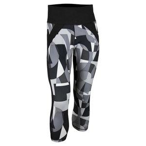 adidas WOMENS PRINTED PANT BLACK/WHITE