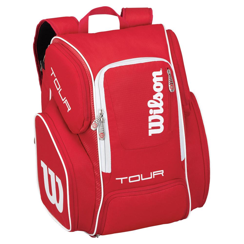 Tour V Large Tennis Backpack Red