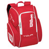 WILSON Tour V Large Tennis Backpack Red