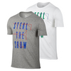 NIKE Men`s Steal The Show Roger Federer Tennis Tee