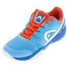 HEAD Juniors` Nitro Pro Tennis Shoes Blue and Flame