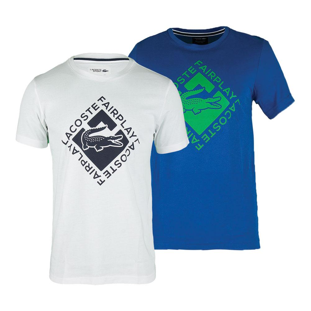 Men's Short Sleeve Fair Play Graphic Tennis Tee