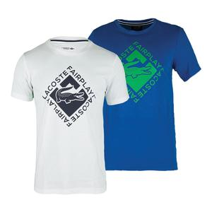 Men`s Short Sleeve Fair Play Graphic Tennis Tee