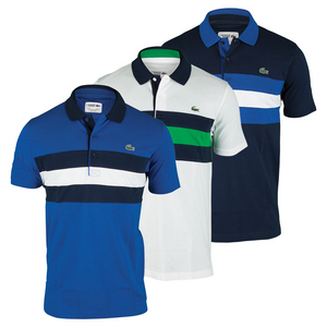 Men`s Short Sleeve Super Light Tennis Polo