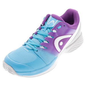 Women`s Nitro Pro Tennis Shoes Aqua and Violet