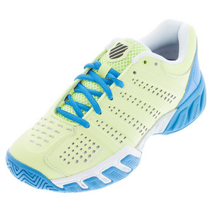 Women`s BigShot Light 2.5 Tennis Shoes Sunny Lime and Vivid Blue