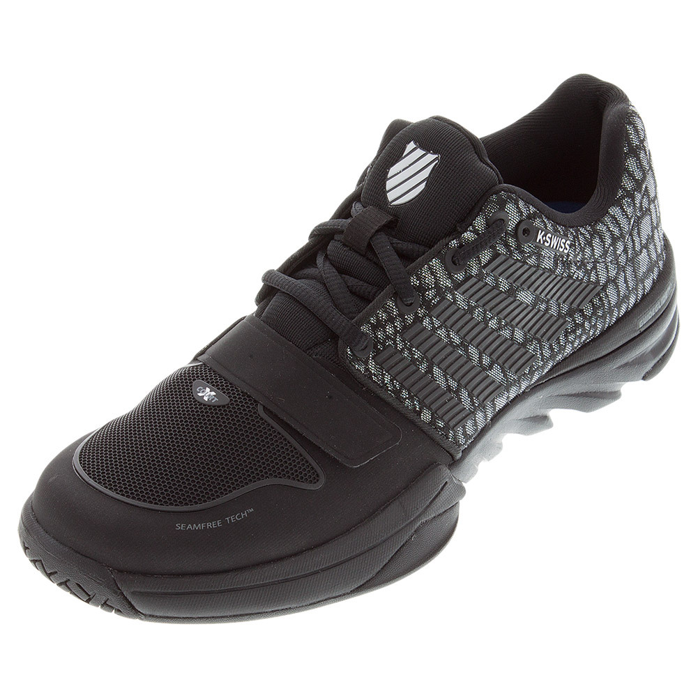 Men's X Court Tennis Shoes Black And Jungle