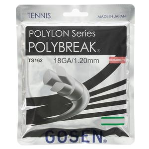 GOSEN POLYBREAK TENNIS STRINGS 18G/1.20MM