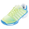 Women`s HyperCourt Express Tennis Shoes Sunny Lime and Vivid Blue by K-SWISS