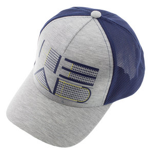 HEAD TRUCKER HAT GRAY AND NAVY