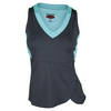 BOLLE Women`s Bayside Tennis Tank Graphite