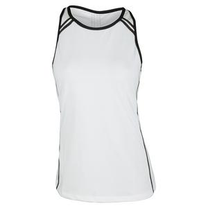 Women`s Eileen Tennis Tank White