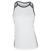 CHRISSIE BY TAIL Women`s Eileen Tennis Tank White