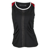 CHRISSIE BY TAIL Women`s Tawana Tennis Tank Black