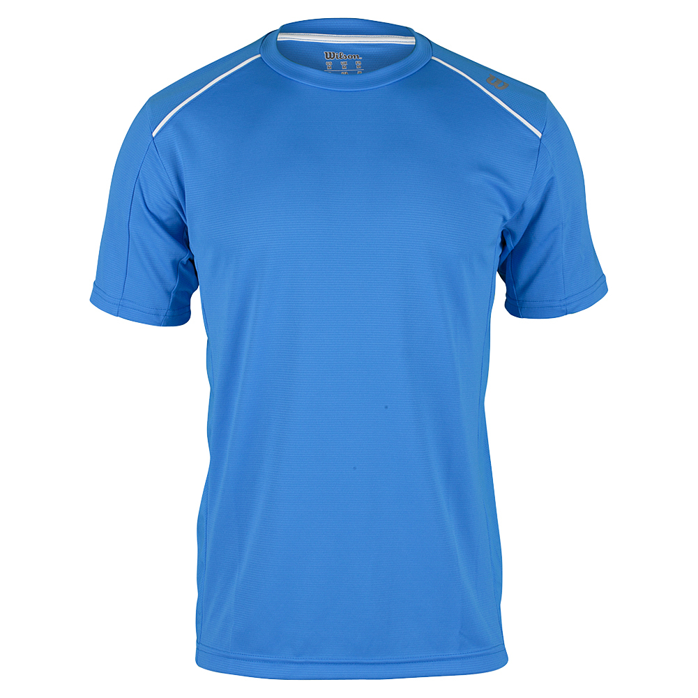 Men's Nvision Elite Tennis Crew Neptune Blue