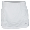 WILSON Women`s Sporty 12.5 Inch Tennis Skort White