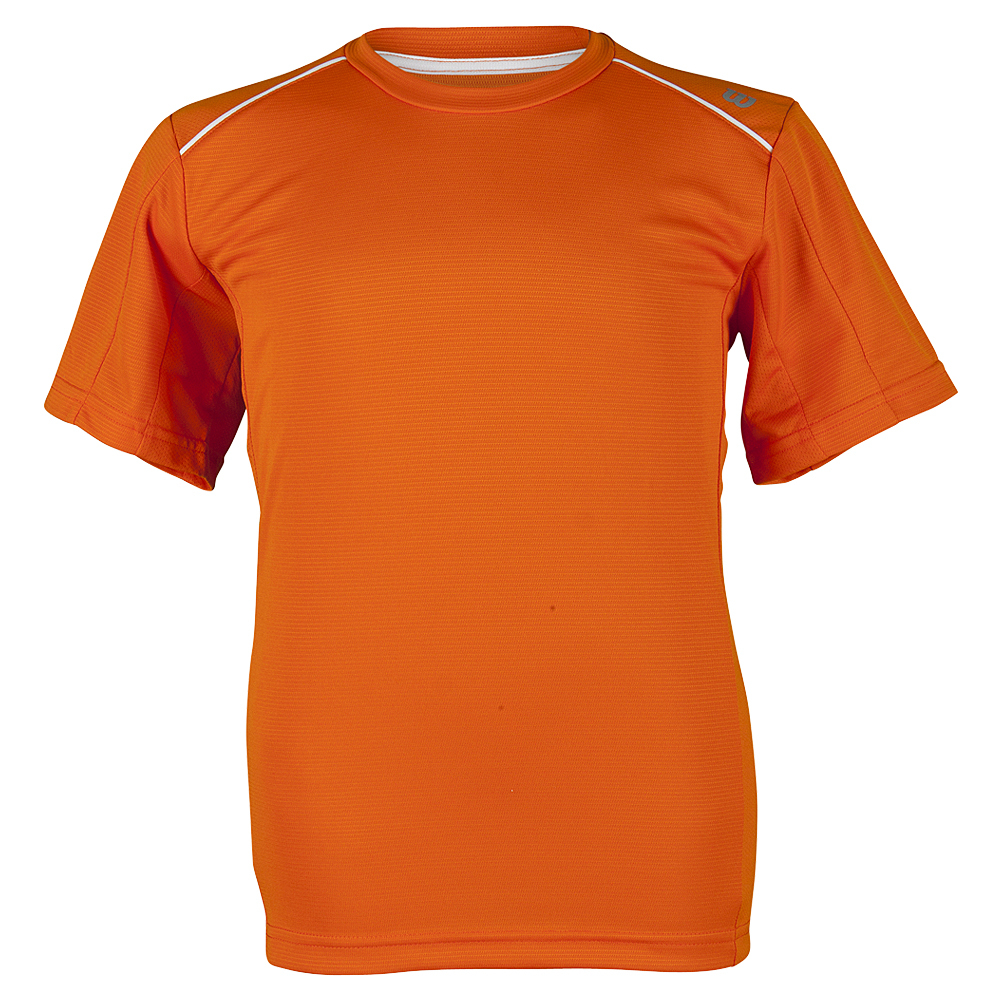 Boys ` Nvision Elite Tennis Crew Clementine