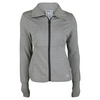 WILSON Women`s Rush Knit Tennis Jacket Heather Gray