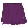 WILSON Women`s Ruffle Stretch Woven Tennis Skort Dark Plumberry