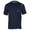 Men`s Textured Tennis Crew Navy by WILSON