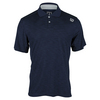 Men`s Textured Tennis Polo Navy by WILSON