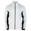 WILSON Men`s Rush Knit Tennis Jacket White and Coal