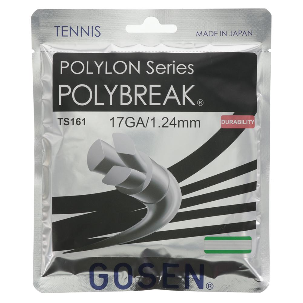 Polybreak Tennis Strings 17g 1.24mm