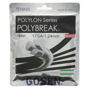 GOSEN POLYBREAK TENNIS STRINGS 17G/1.25MM