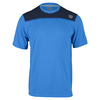 WILSON Men`s Knit Stretch Woven Tennis Crew Neptune Blue