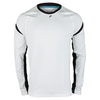 FILA Men`s Platinum Long Sleeve Tennis Top White and Black