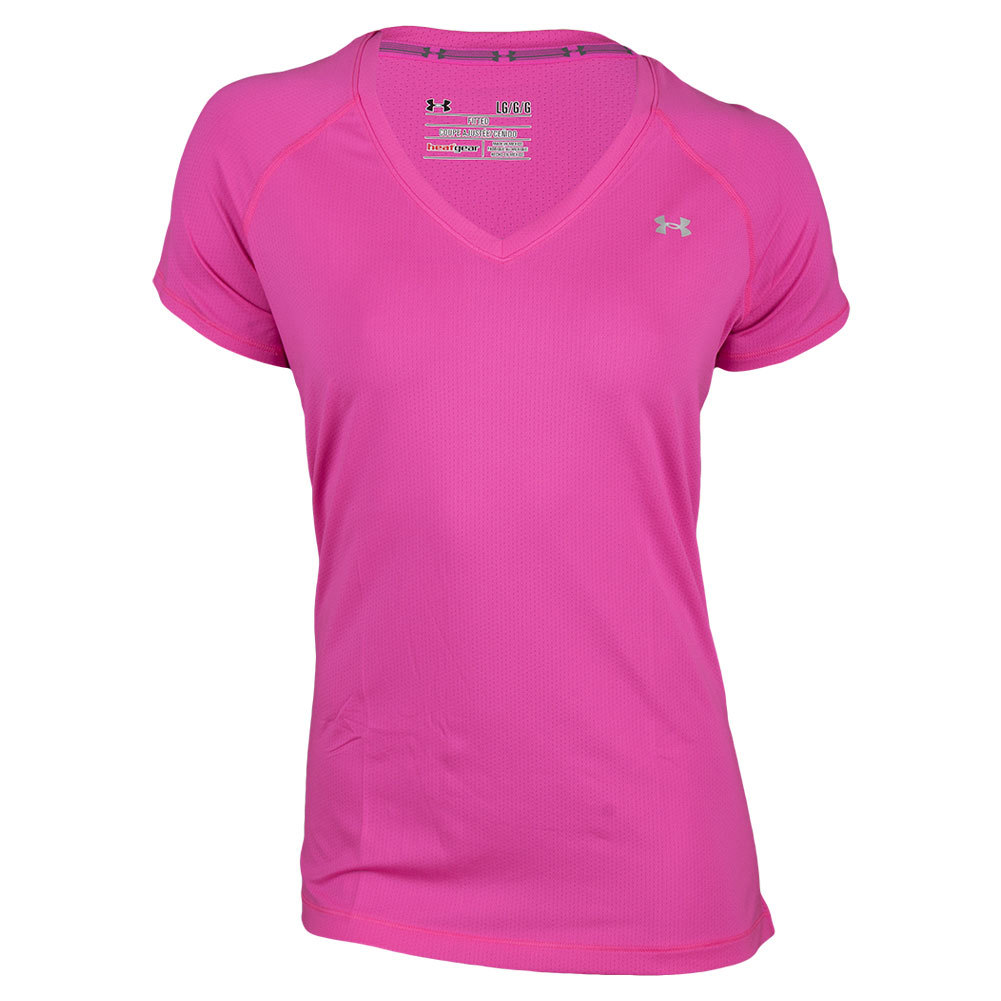 Women`s HeatGear Armour Short Sleeve Top