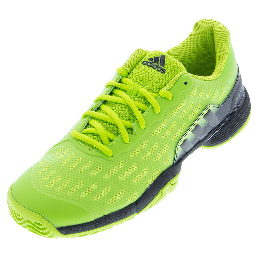 Juniors ` Barricade 2016 Tennis Shoes Semi Solar Slime And Black