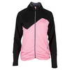 Women`s My Fair Lady Tennis Jacket Black and Neon Pink by BOLLE