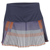 LUCKY IN LOVE Women`s Long On the Line Tennis Skort Concord
