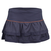 LUCKY IN LOVE Women`s Border Tier Tennis Skort Concord