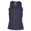 LUCKY IN LOVE Women`s V-Neck Tennis Tank Concord