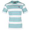 Men`s Printed Stripe Court Tennis Tee 270_MEDITERRANEAN_BL