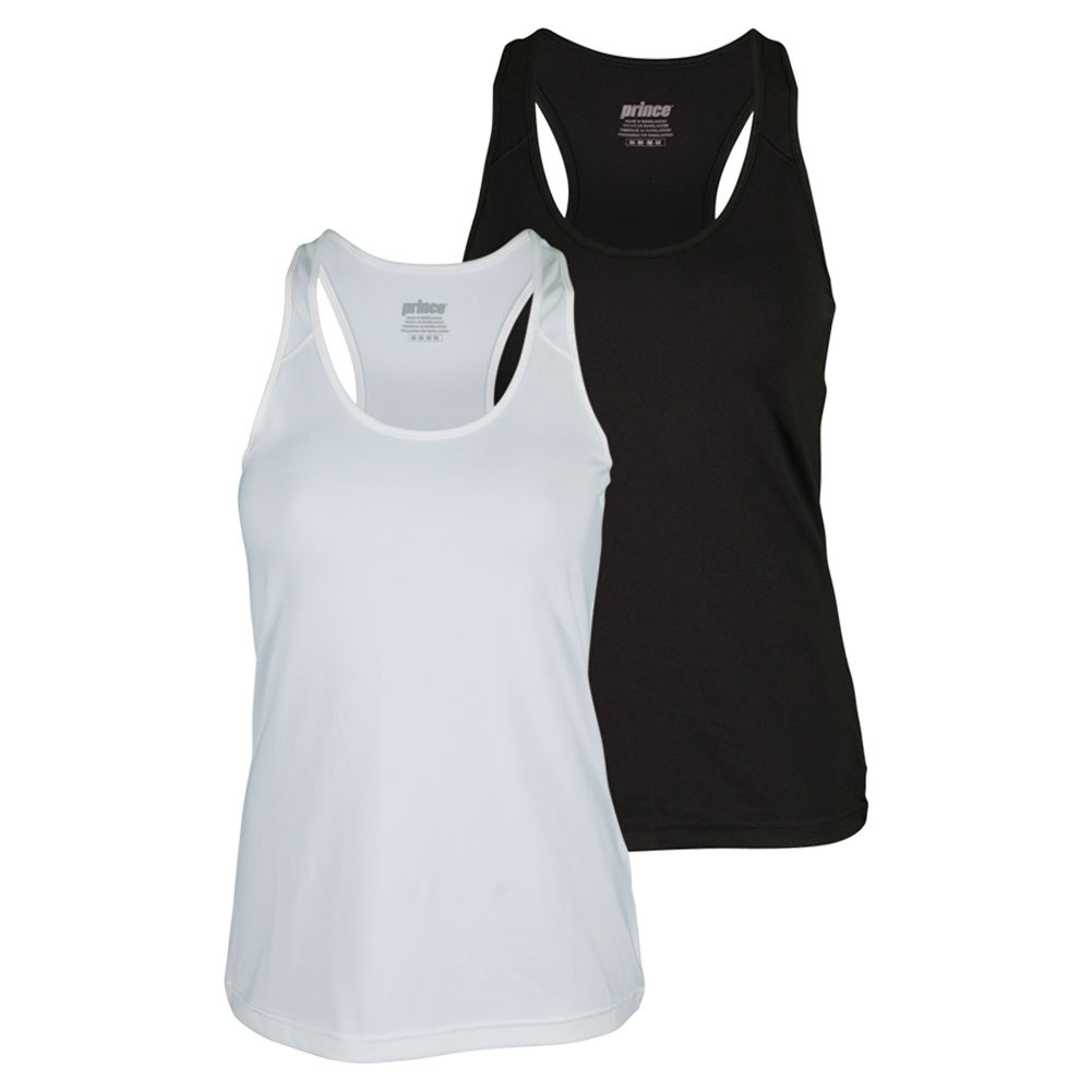 Women's Solid Core Fitted Tennis Tank