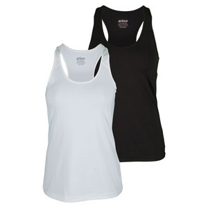 Women`s Solid Core Fitted Tennis Tank