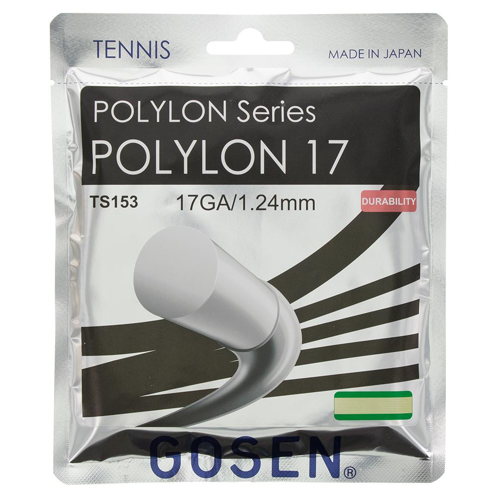 Polylon Tennis Strings 17g 1.24mm Natural